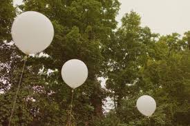 large white balloons balloons worth it or waste of money weddingbee