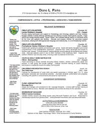 hospital volunteer resume resume for your job application