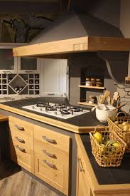 Oak Kitchen Cabinet by Wood Kitchen Cabinets Just One Way To Feature Natural Material