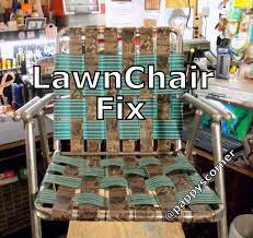 Patio Chair Replacement Slings by Lawn Chair Fix Youtube