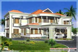 of late indian style 3d house elevations kerala home design and