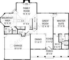 robins nest retirement house plan small cottage design
