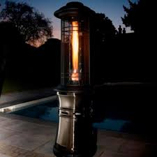 Patio Heater Lights by Lifestyle Santorini Flame 11kw Gas Patio Heater Internet Gardener