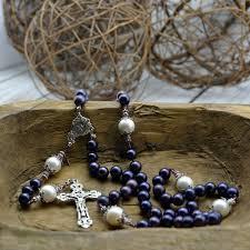 pearl rosary purple south sea pearl rosary heavenlybound