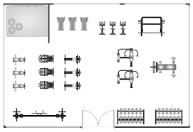 Workout Bench Plans Gym And Spa Area Plan Template
