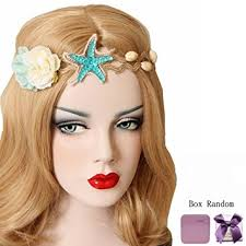 flower accessories bodermincer mermaid sea starfish hairbands