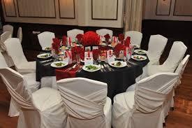 vintage black red white centerpieces decorations edible favor