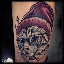 satan cat best tattoo design ideas