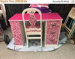 on sale custom desks for order zebra desk pink zebra