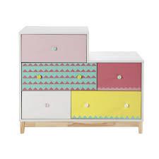 commode chambre enfant chambre d enfant design 11 commode enfant en bois multicolore l