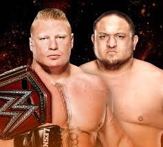 Movievilla by Brock Lesnar Vs Samoa Joe Wwe Great Balls Of Fire 2017 Match