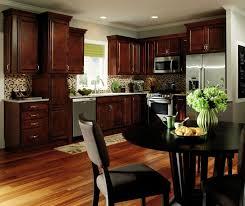 dark wood cabinets in kitchen dark wood kitchen cabinets aristokraft cabinetry