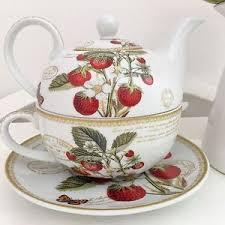 tea for one teapot vintage style floral china tea set teacups cups
