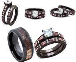 camo wedding band sets camo wedding rings for him in italy wedding