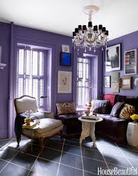 creative what color for living room with purple colour wall design