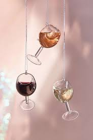 wine glass christmas ornaments wine glass christmas ornament glass christmas ornaments