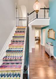 astonishing stair runner ideas home renovations with entrance hall