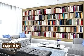 wallpaper that looks like bookshelves cabinet books custom modern book wallpaper mural bookshelf book