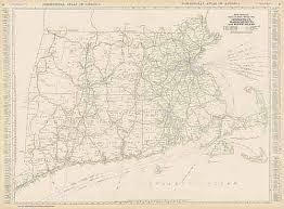 map of ma and ri black and white mileage map of connecticut massachusetts and