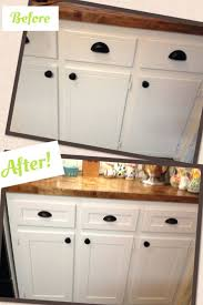 diy kitchen cabinet refacing before and after imanisr com
