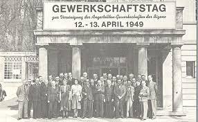 Post Bad Cannstatt Ver Di U2013 Vereinigungskongress Am 12 Und 13 April 1949 In