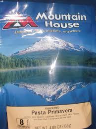 Mountain House Food Mountain House Freeze Dried Pasta Primavera Review