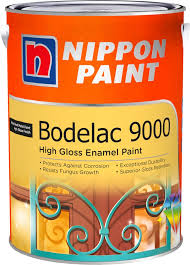 nippon paint bodelac 9000 5l 61 colours interior paints