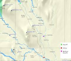 alaska air map alaska river rafting trip lake creek regal air