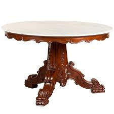 West Indies Dining Room Furniture by Antique Anglo Indian Or British Colonial Mahogany Round Table With