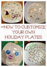 easy diy holiday craft make some sharpie holiday plates using