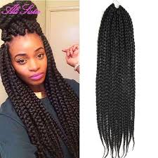 crochet braid hair box braids hair crochet hair expression braiding synthetic