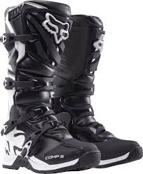 black motocross bike dirt bike boots ebay