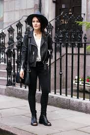 womens biker boots fashion dressing like russell brand again russell brand magpie and