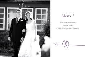 remerciement mariage photo carte de remerciement mariage duo d oiseaux atelier rosemood