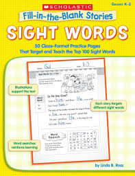 thanksgiving cloze fill in the blank stories sight words by linda b ross scholastic
