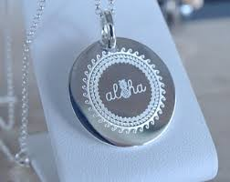 engrave your own necklace drawing necklace etsy