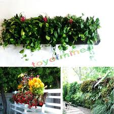 wall mounted planter wall ideas flower pots in mijas royalty free stock photography