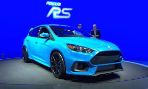 ford focus 2015 rs ford focus rs 2015 nyias fast daily