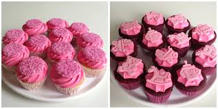 cupcakes for baby shower girl it s a girl baby shower cupcakes thirstforfood