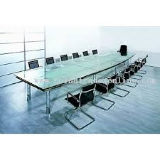 Frosted Glass Conference Table Wholesale Office Furniture Novelty Office Furniture China