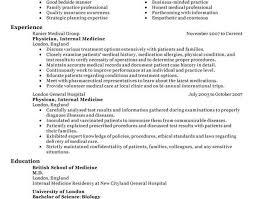 resume beautiful idea medical resume examples 12 24 amazing