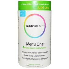 rainbow light men s one multivitamin review rainbow light just once men s one food based multivitamin 150