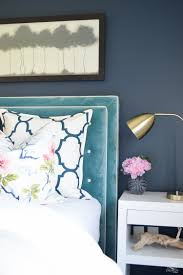 basic to beautiful custom velvet headboard zdesign at home design custom headbaord teal velvet headboard with white trim eastern charm floral pillow riad navy custom
