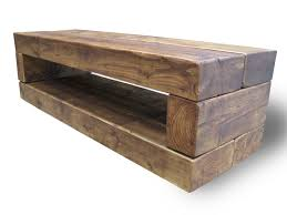 chunky stretch tv stand the cool wood company