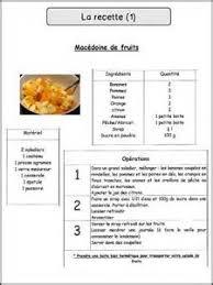 exemple de recette de cuisine fiche technique recette cuisine ohhkitchen com