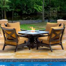 Gas Patio Lights by Pedestal Outdoor Pub And Bistro Sets Patio Tropical With String