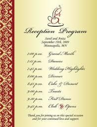 wedding reception program wording awesome wedding reception program wording photos styles ideas