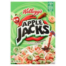 Breakfast Food Cereal Walmart Com by Kellogg U0027s Apple Jacks Cereal 8 7 Oz Walmart Com