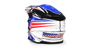 custom motocross helmet helmet kit stars and stripes rival ink design co custom