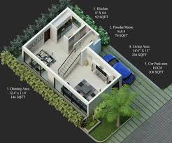 2 bhk house plans 30x40 design 30 x 40 square feet plan 624